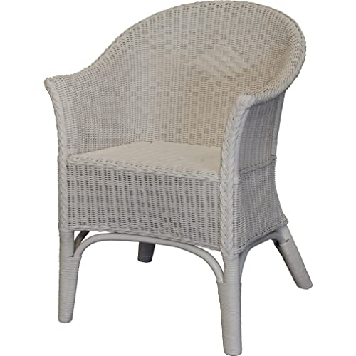 White Wicker Chair Amazon Co Uk