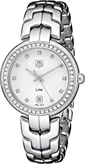 Women's WAT1316.BA0956 Diamond-Accented Stainless Steel Watch