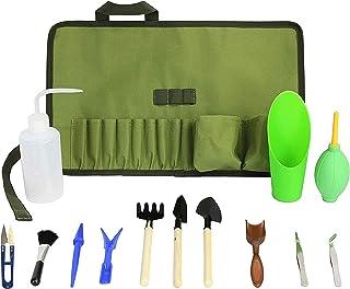 Succulent Kit Roll Organizer Gardening Tool Set | Terrarium Supplies Mini Succulent Garden Tool Kit | Heavy Duty Succulent...