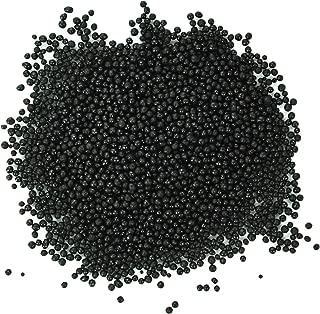 Dress My Cupcake DMC27191 Decorating Nonpareils Sprinkles for Cakes, 16-Ounce, Black