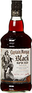 Captain Morgan Black Spiced Rum 1 x 0.7 l
