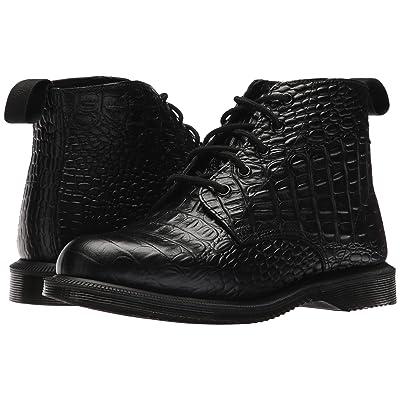 Dr. Martens Emmeline 5-Eye Boot (Black New Vibrance Croco) Women