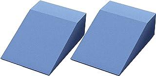 Stretch Block Eva, Yoga Foam Wedge Blocks (Pair) Soft Wrist Wedge, Yogis Advanced Slant-Board Stretcher Block Incline Leg,...