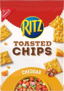 Ritz Toasted Chips Cheddar Flavored, 1 – 8.1z bag