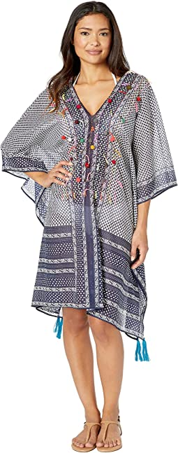 17a1b9ed94ffc Navy blue beach coverup | Shipped Free at Zappos
