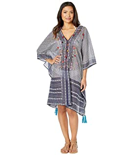 9d5c874fd3 Kate Spade New York Grove Beach Long Caftan Cover-Up at Luxury ...