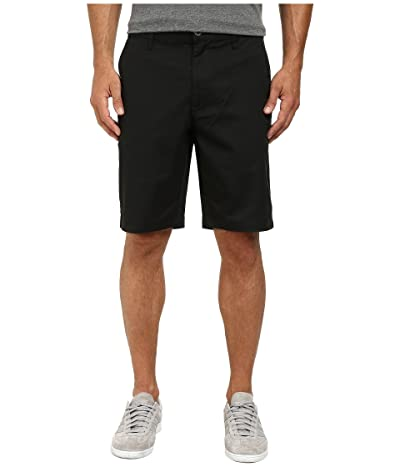 RVCA The Week-End Stretch Shorts (Black) Men