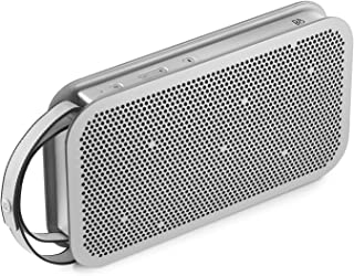 Bang & Olufsen Beoplay A2 Portable Bluetooth Speaker, Wireless Splash and Dust Resistant Speaker, Natural