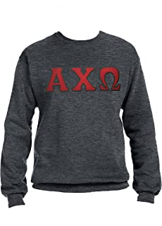Alpha Chi Omega Sweatshirt with Greek Letters