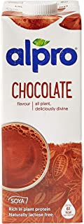 Alpro Soya Drink Chocolate 1 liter (Pack of 1)