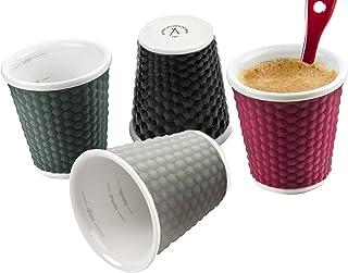 Les Artistes 3 fl.oz Honey Cups - Multi-Colour, Set Of 4