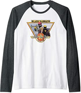 Black Sabbath Official Never Say Die Tour '78 Raglan Baseball Tee