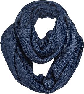 Men Scarf Knit Infinity Scarf Winter Soft Warm Scarves E5081b