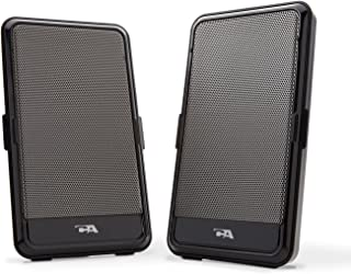 Cyber Acoustics Portable USB Speaker - Perfect for Music, Movies or Gaming on The go (CA-2988)