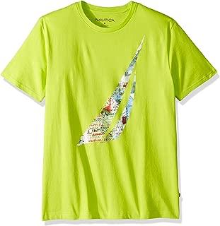 Men's Short Sleeve Crew Neck Artist Series 100% Cotton T-Shirt