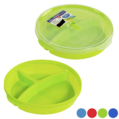 SET OF 4//FOUR FIRST BABY FEEDING PLATES ORANGE,GREEN,YELLOW PARTY PICNIC TRAVEL