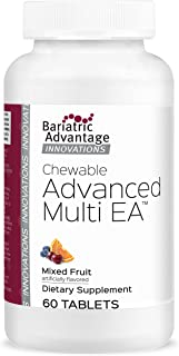 Bariatric Advantage – Chewable Advanced Multi EA - Multivitamin for Bariatric Surgery Patients Including Gastric Bypass, S...