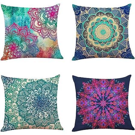 Raji Premier Prints Spirit Blue 1 pc CLEARANCE PILLOW COVER Home Decor Sofa Throw Pillow-Cover with Zipper Enclosure