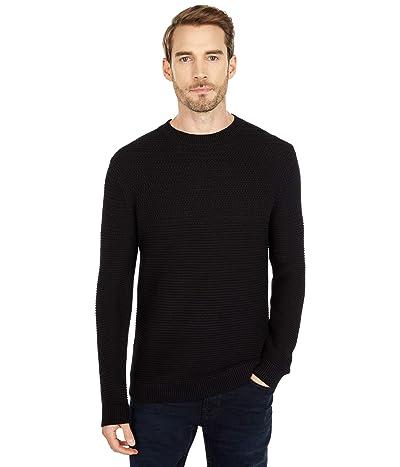 Selected Homme Conrad Crew Neck Sweater (Black) Men
