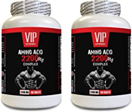 Workout Supplements for Men Muscle - Amino ACIDS Complex 2200 MG - l-arginine Complex - 2 Bottles 300 Tablets