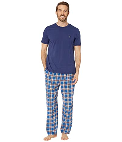 Nautica Pajama Set (Navy) Men