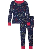 Hatley Kids - Celestial Night Long Sleeve Pajama Set (Toddler/Little Kids/Big Kids)
