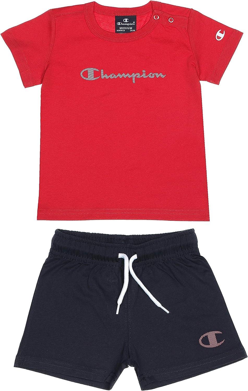 Champion Toddler Set Clothing Set Running Tshirt Shorts Boy's Sports Fashion New