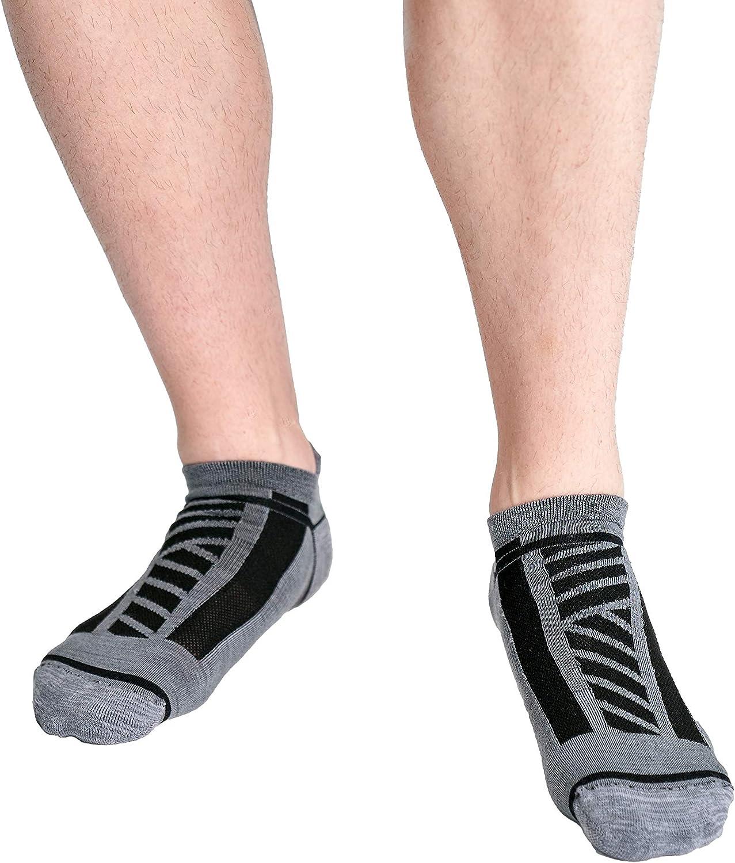 Kane 11 Socks in Your Exact Size - Harry Mid-Lightweight Merino Wool Ankle Socks for Men