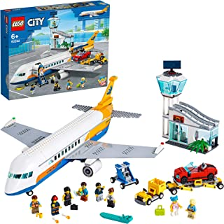 LEGO City Airport Passenger Airplane 60262 building set with plane, truck and convertible car , Toy for kids 6+ years (669...