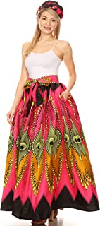 ankara high waist skirt and top