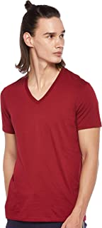 Armani Exchange Men's 8NZT75 T-Shirt, Red (Biking Red 1457), Medium