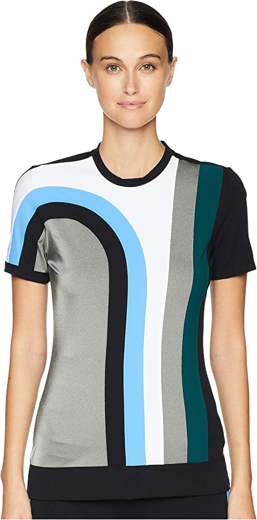 Multicolor/Black/Silver/White/Light Blue/Dark Green