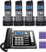 $219 » RCA 25255RE2 (25055RE1, 25254) 2-Line Phone System with Answering System - Corded Speakerphone and Wireless Handset Bundle...