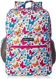 Gravity School Backpack for Girls - Multi Color