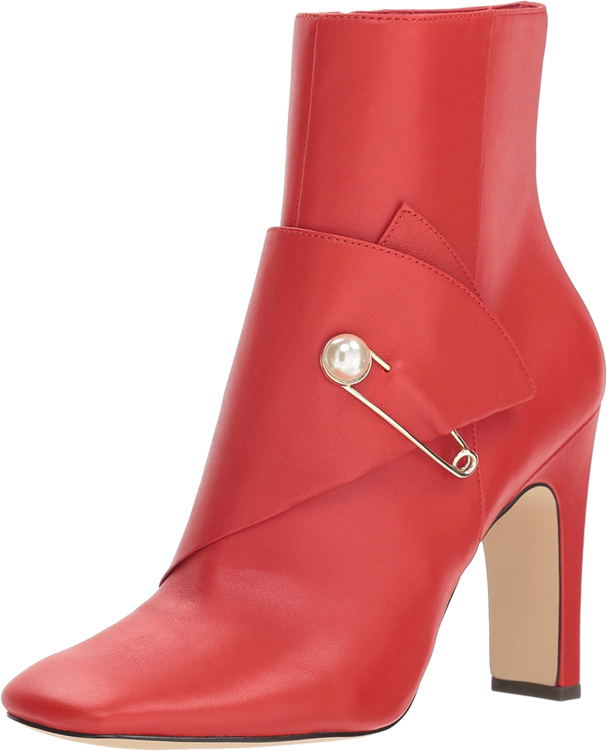 Nine West kvinnor Quitit läder Ankle Boot