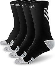 Dovava Dri-tech Compression Crew Socks (4/6 Pairs), Comfort Anti-Blister Boost Circulation
