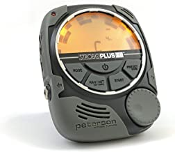 Peterson StroboPlus HD Desktop Strobe Tuner | Guitar, Bass, Violin, Ukulele, Harp, Brass, Woodwind, Orchestral, Pedal and Steel Guitar | Tuner Choice of Luthiers, Technicians, Builders, Manufacturers