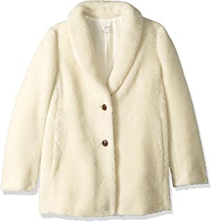 Women's Teddy Fleece Shawl Collar Coat