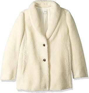 J.Crew Mercantile 女士泰迪羊毛披肩领外套