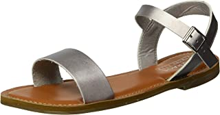 Rampage Women's Malta Basic One Strap Sandal with Ankle Strap