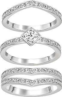 SWAROVSKI Alpha Ring Set -3 Rings