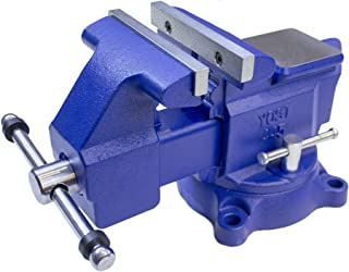 Yost Model 465 Heavy-Duty Industrial 6.5- Inch Combination Pipe and Bench Vise Tool with..