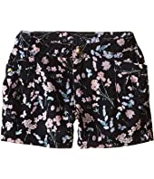Kardashian Kids - Cord Printed Shorts with Front Patch Pockets (Toddler/Little Kids)