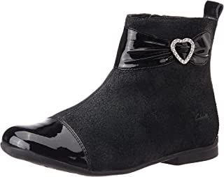 5d9fc510c Black Girls' Boots: Buy Black Girls' Boots online at best prices in ...