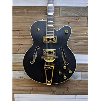 Gretsch G5191BK Tim Armstrong Signature Electromatic Hollow Body Electric Guitar - Black