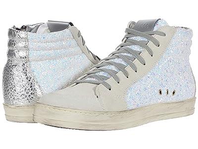 P448 Skate (White Glitter) Women
