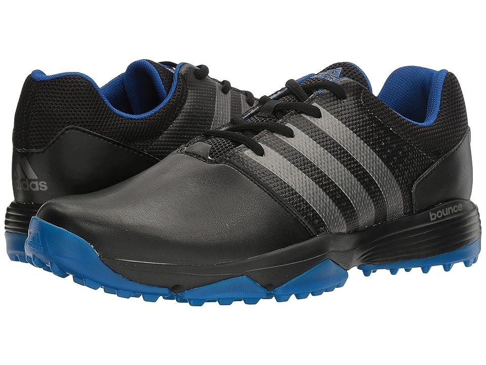 adidas Golf 360 Traxion (Core Black/Dark Silver Metallic/Royal) Men