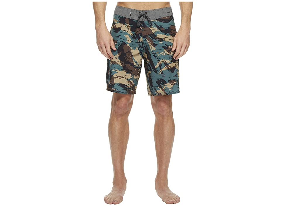 Quiksilver Highline Techtonics 19 Boardshorts (Mallard Green) Men