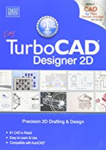 IMSI Design 8054716 TurboCAD Designer 2D V17 Software, Easy to Learn and Use, Compatible with AutoCAD, Complete Set of 2D Drafting and Detailing Tools, Flexible User Interface