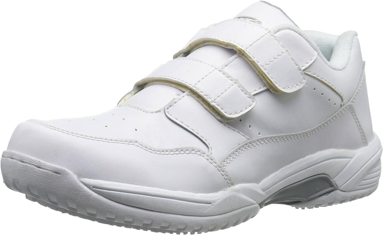 Ad Tec Men's 9635 Uniform Athletic Velcro Black Work Shoe